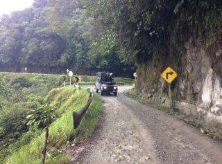 Camino del Muerte in Collombia