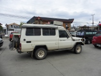 Pour Ingrid et Paul: Land Cruiser uit Queensland, Australie (Puerto Natales)