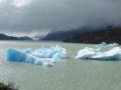 icebergs - Glacier Grey